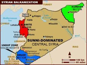 Disintegrating Syria