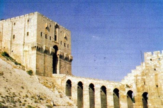 Pháo đài Aleppo- Hình Thom Richardson