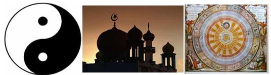 """""""mạn-đà-la"""" theo nghĩa mở rộng trong các vũ trụ quan khác:  Đạo giáo, Hồi giáo, và Hệ nhật tâm của Copernicus (1473-1543)"""