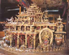 Mạn-đà-la Thời luân tại điện Potala Lhasa Tây Tạng