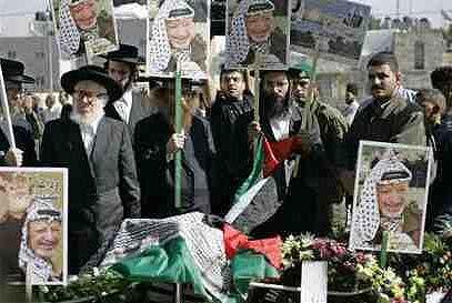 Người Neturei Karta đưa tang Arafat