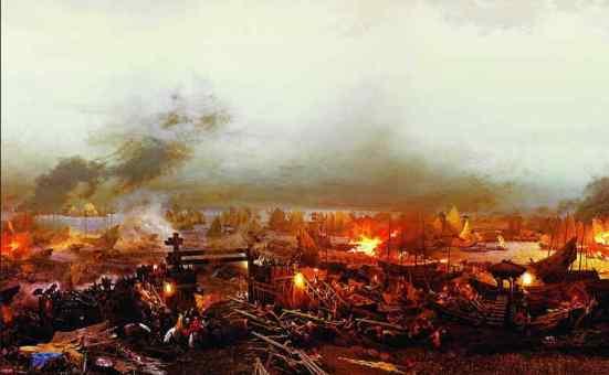 Thủy chiến ở đầm Thị Nại năm 1801