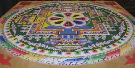 mạn-đà-la được tăng đoàn Dzongkar Choede   tạo thành tại Sanjosé California Hoa kì vào tháng 8 năm 2007
