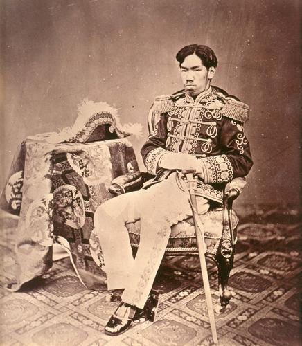 Chân dung Thiên hoàng Minh Trị- ảnh :wiki