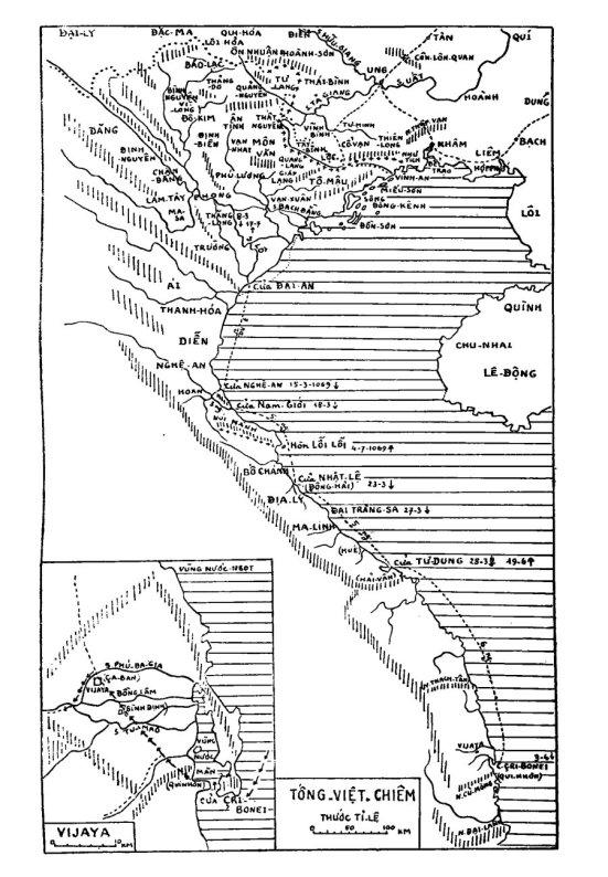 Bản đồ I. Tống-Việt-Chiêm