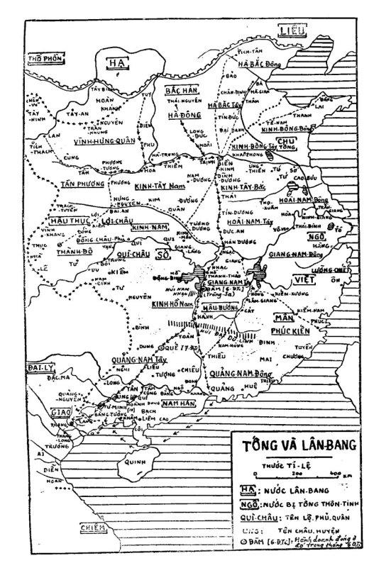 Bản đồ IIa - Tống và Lân Bang