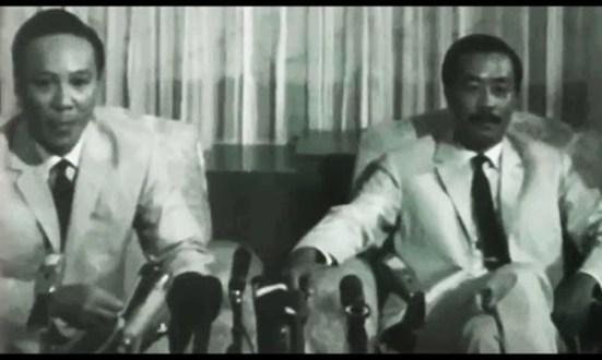Hai ông Thiệu và Kỳ trước cuộc bầu cử tổng thống VNCH năm 1967