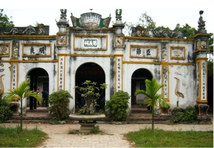 Tiết Nghĩa Từ, đền thờ cụ Tiết Nghĩa Đàm Thận Huy tại Bắc Ninh