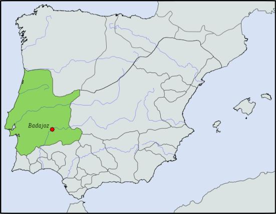 Vương quốc Badajoz giai đoạn cực thịnh (1037)