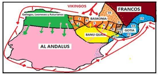 Các chiến dịch Viking ở Tây Ban Nha từ 840-859