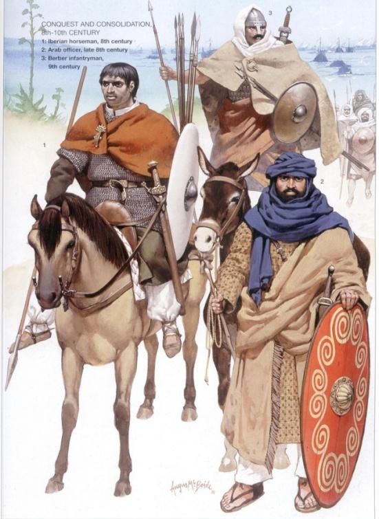 Lính Ả Rập ở Tây Ban Nha: