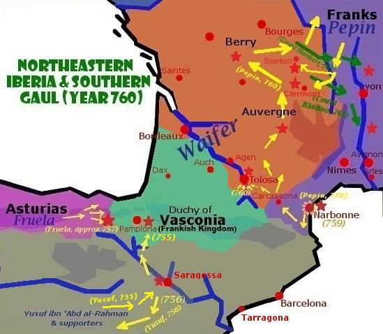 Các chiến dịch thập niên 750-760