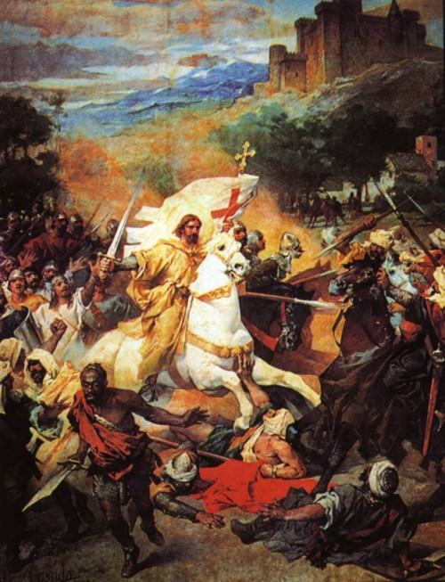 Thánh James trong trận Clavijo: