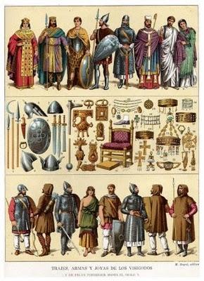 Vua, quý tộc, giáo sĩ và các tầng lớp dân chúng vương quốc Visigoth