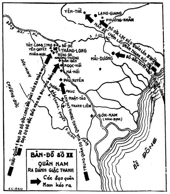 Bản đồ đại phá quân Thanh