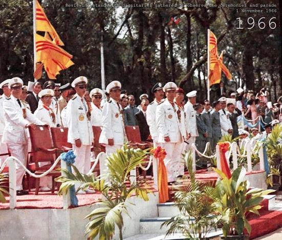 """""""Hội đồng Quân lực"""" tại lễ Quốc khánh 1/11/1966"""