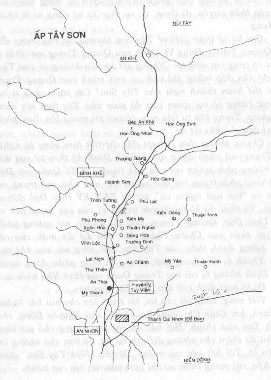 Bản đồ Ấp Tây Sơn