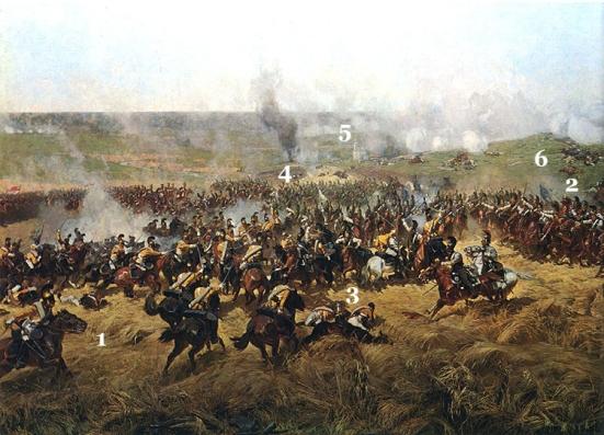 Cavalry Fight on the Rye Field