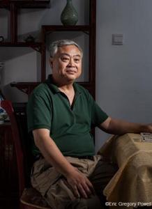 Giáo sư Thẩm Chí Hoa (Ảnh: Eric Gregory Powell)