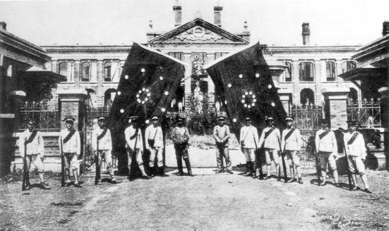 Khởi nghĩa Vũ Xương bắt đầu cuộc Cách Mạng Tân Hợi, 1911
