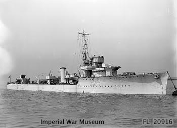Tầu HMS Velox - tàu khu trục lớp V của Hải quân Hoàng gia
