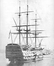 Chiếc Victoria, kỳ hạm của đô đốc Hải quân Anh Horatio Nelson