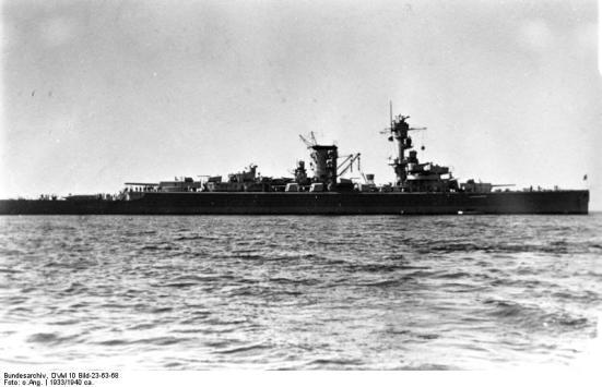 Thiết giáp hạm bỏ túi chiếc Deutschland,