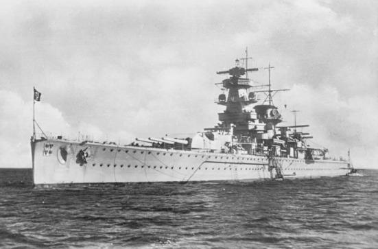 Thiết giáp hạm bỏ túi chiếc Admiral Graf Spee