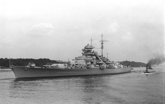 Ảnh chiếc SMS Bismarck