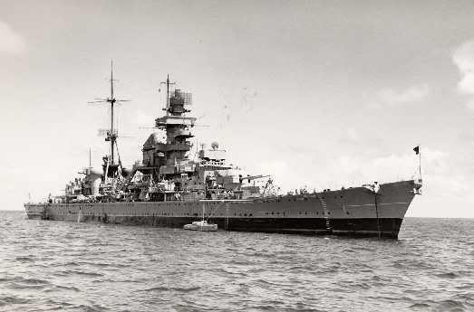 Ảnh chiếc Prinz Eugen của Hải quân Đức