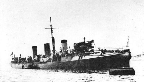 Chiếc tầu khu trục HMS Havock của Hải quân đế quốc Anh (1893)