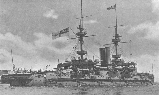 Chiếc thiết giáp hạm HMS Majestic, một thời từng là khuôn mẫu cho nhiều thiết giáp hạm cho nhiều cường quốc hải quân trên thế giới