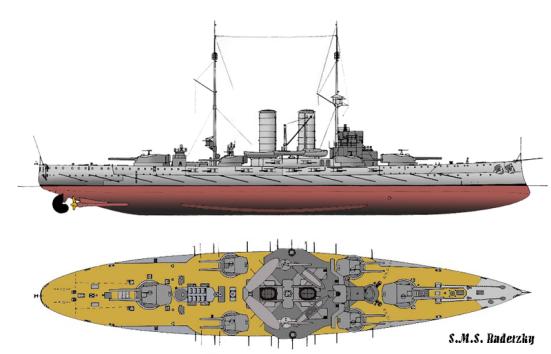 Thiết giáp hạm lớp Radetzky, một lớp Thiết giáp hạm thời tiền Dreadnought của Hải quân Áo-Hung.