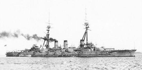 Chiếc Settsu thiết giáp hạm của Nhật Bản