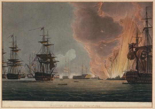 Tranh vẽ khoảnh khắc chiếc Kỳ hạm Phương Đông phát nổ, vinh danh hơn 1.000 liệt sỹ Pháp từ vị đô đốc tư lệnh hạm đội đến người lính trơn