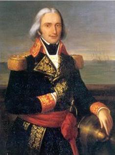 Chân dung đô đốc Pháp Brueys dAigalliers - người đã thua trận sông Nile