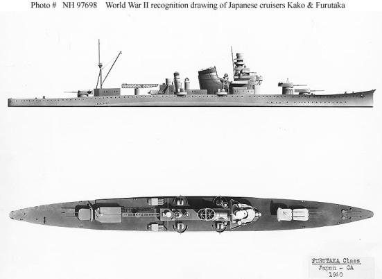 Kiểu dáng thiết kế của chiếc Furutaka