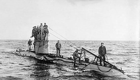 Lại thêm một chiếc tầu ngầm thả thủy lôi nữa - chiếc UC1