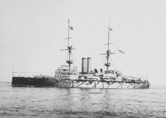 HMS_Ramillies_1892