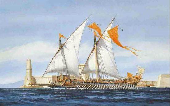 Một tầu Galley của người Venezia