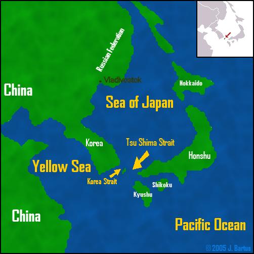 TsuShima_Strait