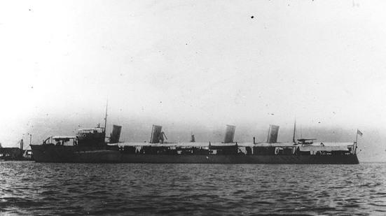Chiếc tầu khu trục đầu tiên của Hoa kỳ, chiếc USS Bainbridge