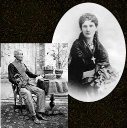Vua Thái Mongkut và bà Anna Leonowens, hai người trở thành nhân vật trong truyện 'The King and I' và cuốn phim 'Vua Xiêm và Thiếp'. (Wikipedia)