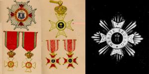 Các loại huy chương do vua Marie Đệ Nhất tự thiết kế và dùng chúng để ban tặng một cách hào sảng ở khắp nơi.