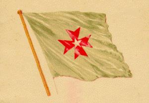 Quốc kỳ nước Sédang.