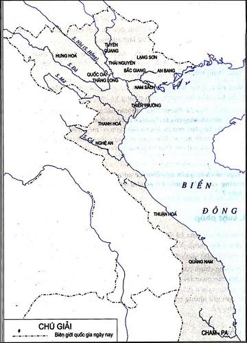 Lược đồ hành chính nước Đại Việt thời Lê sơ (1428-1527)