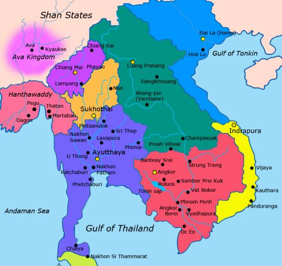 Đông Nam Á đầu Tk 15