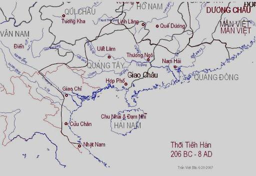 giao chi thời Tien Han