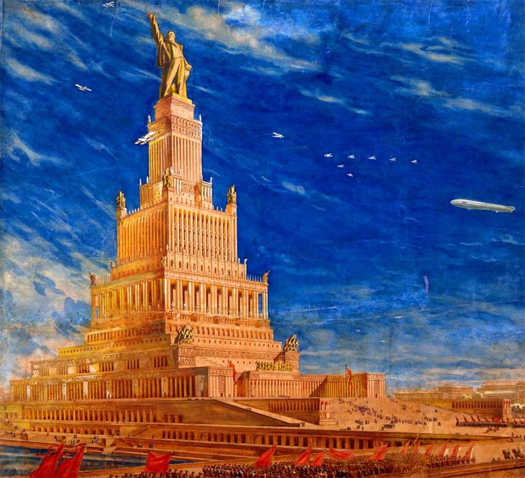 Moscow Palace Of Soviets