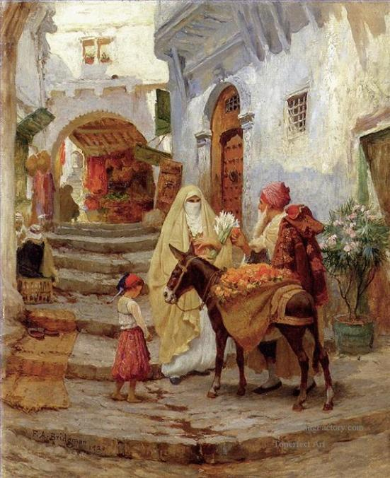 6-Bridgman-Frederick-Arthur-The-Orange-Seller-classic-Arab